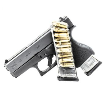 Elite Tactical Systems Group 9mm Glock 43 Magazine 9 Round Capacity