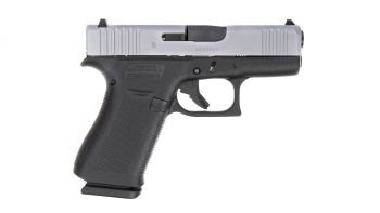Glock 43X 9mm Pistol - Silver (USA Made) 10RD
