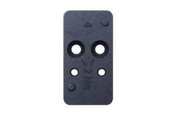 H&K VP9 Optic Mounting Plate #4 - Leupold DeltaPoint