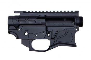 Iron City Rifle Works AR-15 TYR 1 Receiver Set - Black