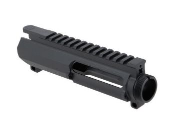 Cross Machine Tool (CMT) Tactical UPUR-4 Billet Upper Slick Side w/ Dust Cover Port