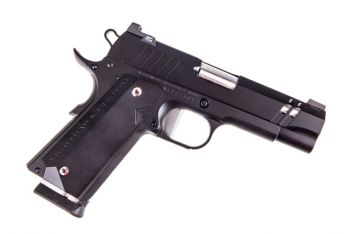 NightHawk Tri Cut Carry 9mm Flat Faced Trigger 1911 Pistol