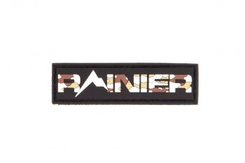 "Rainier Arms Patch - ""Rainier"" Camo"