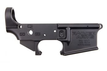 Rainier Arms Forged CA Compliant Lower Receiver with Battle Arms Development MRB