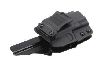 Squared Away Customs Polymer80 PF940SC (Glock 26/27) RH Holster - Black