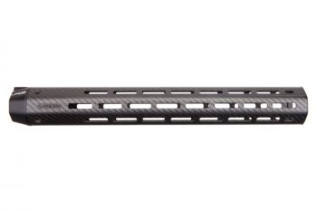 Lancer Systems .308/7.62 LCH7 LIGHTWEIGHT M-LOK Carbon Fiber Handguard XL (No Rails) - 15""