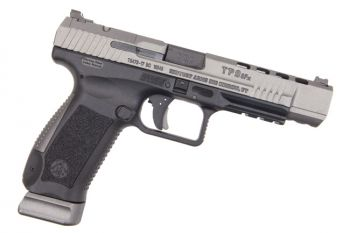 "Canik TP9SFX 9mm Pistol 5.2"" Barrel Tungsten Grey 20rd"