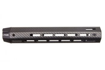 Lancer Systems .308/7.62 LCH7 LIGHTWEIGHT M-LOK Carbon Fiber Handguard XL (No Rails) - 12""