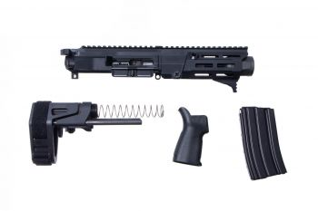 Maxim Defense MDX 505 PDX Upper Kit w/ Brace - Black