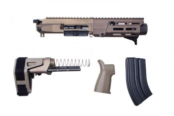 Maxim Defense MDX 505 PDX Upper Kit w/ Brace - Arid