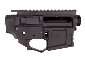 Lead Star Arms Grunt AR-15 Receiver Set - Black
