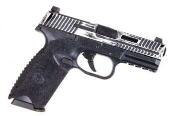 Agency Arms FN 509 9MM - Battle Worn White