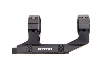 Riton Optics RT-M Quick Detach Scope Mount - 30MM/1""