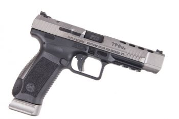 "Canik TP9SFX 9mm Pistol 5.2"" Barrel Tungsten Grey 20rd w/ Vortex Viper"
