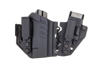 TXC Holsters X1 Ally For Glock 9/40 w/ Mag Pouch - RH Black
