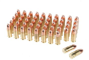 Rainier Munitions Remanufactured 9mm 147gr Subsonic FMJ Box - 500 Rd