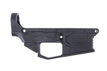 James Madison Tactical (JMT) Carbon 50 AR-15 80% Lower Receiver with Jig - Black
