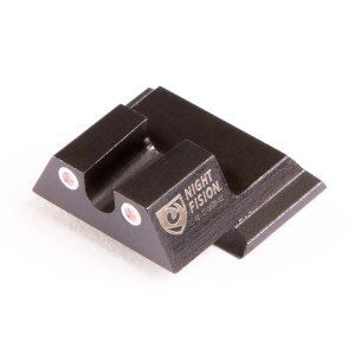 "Night Fision Smith & Wesson M&P, M&P M2.0, SD9 VE, SD40 VE Perfect Dot Tritium Night Sight Set - ""U"" Rear"