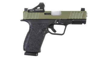 Next Level Armament NXL-19 9mm Pistol w/ Swampfox Justice - Bazooka Green/BLK Pins