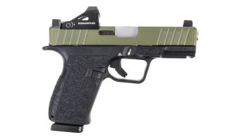 Next Level Armament NXL-19 9mm Pistol w/ Swampfox Justice - Bazooka Green/SS Pins