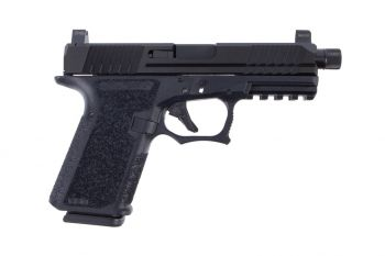 Polymer80 PFC9 Compact 9mm (Threaded Barrel & Night Sights) Pistol - Black