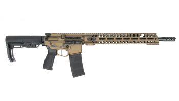 "Patriot Ordnance Factory (POF) Renegade Plus 5.56 Rifle (M-LOK) -  16.5"" Burnt Bronze"