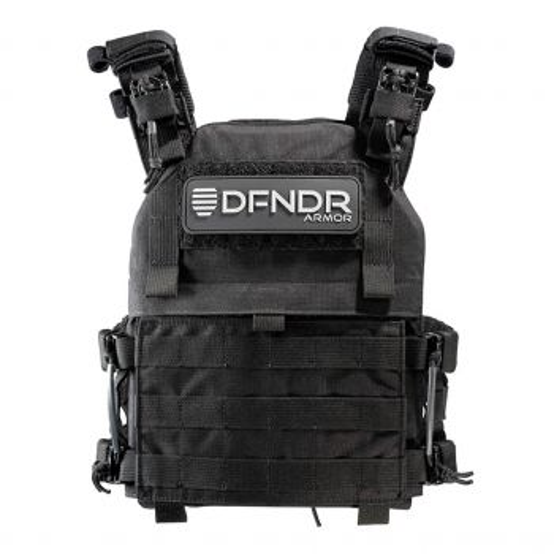 DFNDR Armor QRC Plate Carrier - Black