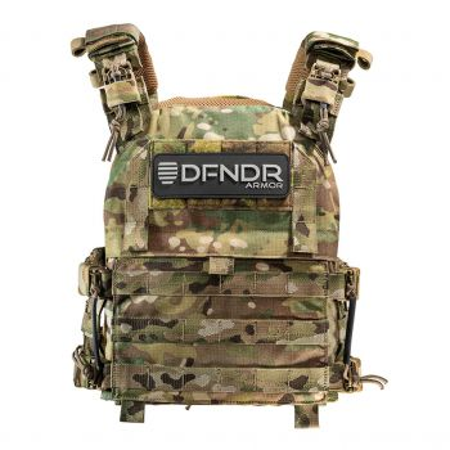 DFNDR Armor QRC Plate Carrier - Multicam