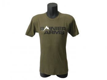 Rainier Arms Classic Logo T-Shirt - Dark Green