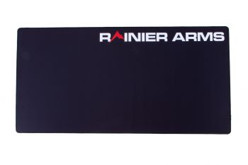 Rainier Arms Gun Cleaning Mat / Large Mouse Pad - Black