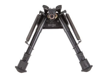 """Harris Engineering Bipod S-BRM 6""""-9"""" Inch With Swivel Notched Folding Telescoping Legs"""
