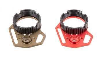 Strike Industries Ultralight Multi-Function End Plate & Anti-Rotation Castle Nut