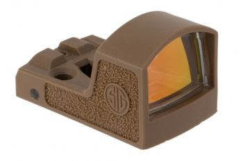Sig Sauer Romeo Zero Reflex Red Dot Sight - 3 MOA Coyote
