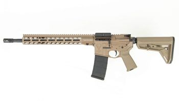 "Stag Arms Stag 15 Tactical 5.56 NATO Left-Hand Rifle - 16"" FDE"