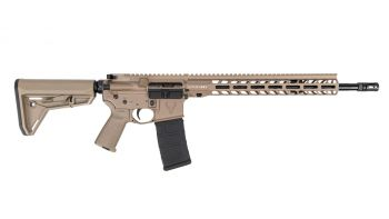 """Stag Arms Stag-15 5.56 NATO M-LOK Tactical Rifle - 16"""" FDE"""
