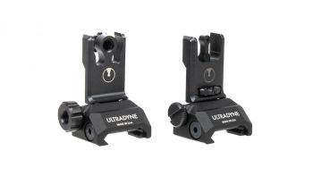 Ultradyne C2 Folding Front and Rear Sight Combo - Aperture