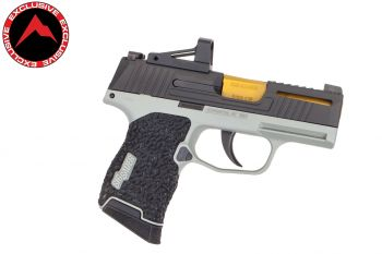 Danger Close Armament Sig Sauer P365 Signature Pistol w/ RMSc Red Dot - Cool Grey/TiN (Rainier Arms Exclusive)