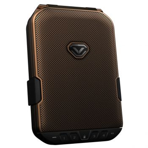 Vaultek LifePod Humidor Bluetooth Lockbox - Rustic Brass