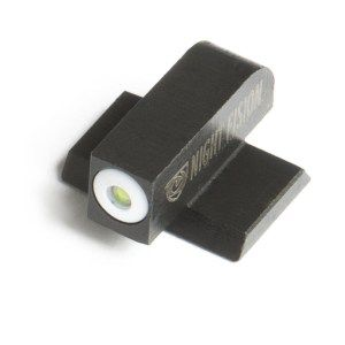 "Night Fision Smith & Wesson M&P Suppressor Height Perfect Dot Tritium Night Sight Set ""Square"" Rear"