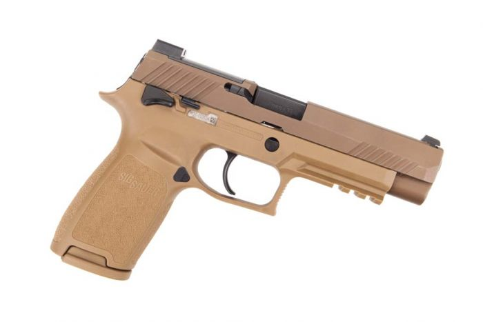 Sig Sauer P320 9mm M17 Manual Safety