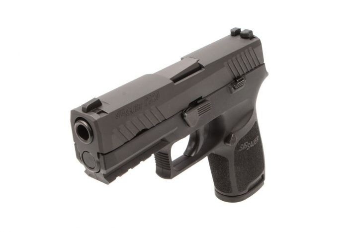 Sig Sauer P320 Compact 9mm 3 9in Black 15RD Pistol W/ Night Sights