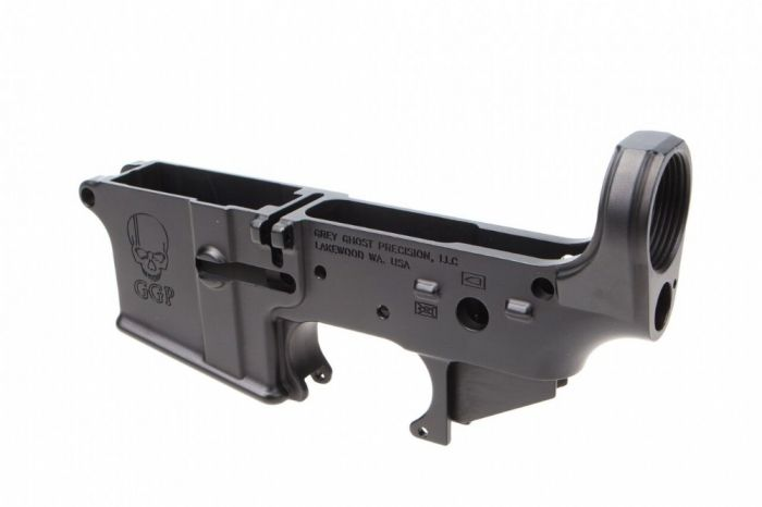 Grey Ghost Precision Cornerstone AR-15 Forged Stripped Lower
