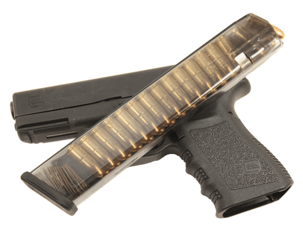 Elite Tactical Systems Group Glock 18 9mm 31 Round Magazines