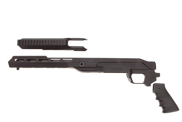 RAINIER ORIAS M-LOK CHASSIS SYSTEM REM 700 SHORT ACTION TYPE 1 TRUNNION  WITH ACCESSORY RAIL