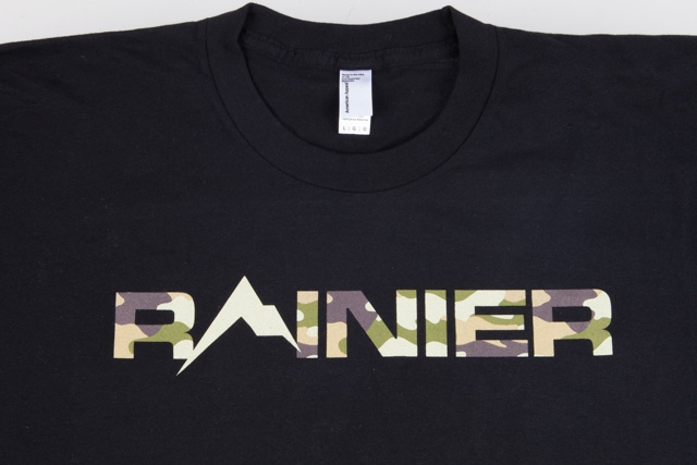 Rainier Arms Form Fitting T-Shirt Camo