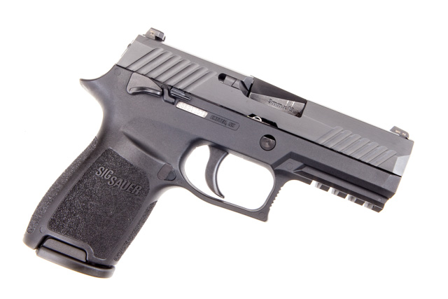Sig Sauer P320 Compact 9mm | Night Sights and Manual Safety
