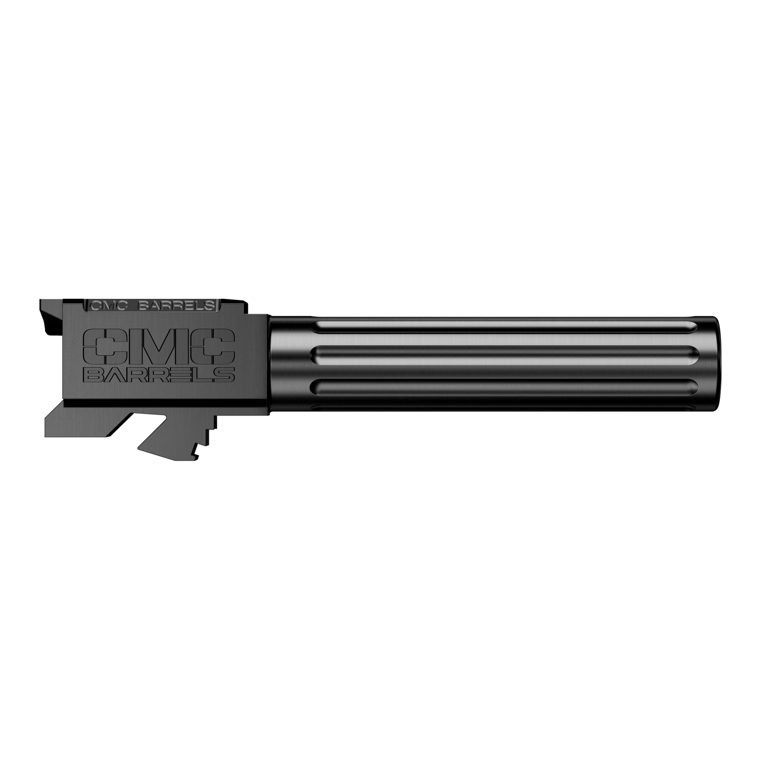 CMC Glock 19 Fluted Barrel Non Threaded