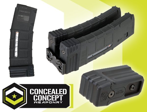 Concealed concept weaponry