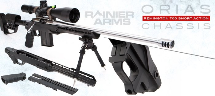 Rainier Arms Orias Chassis for Long Range Precision Excellence