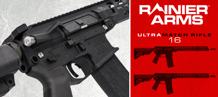 Rainier Arms Ultramatch rifle 16